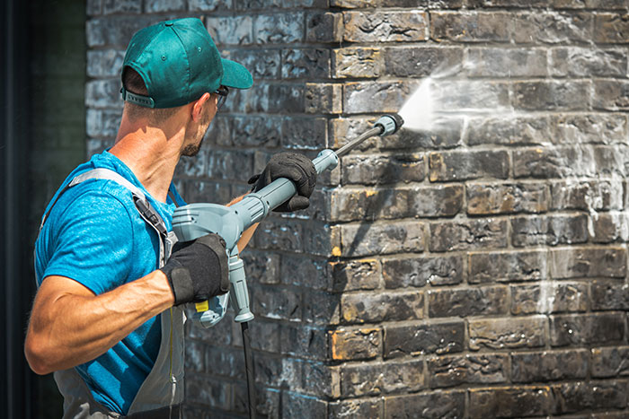 Commercial Brick Cleaning Central Scotland